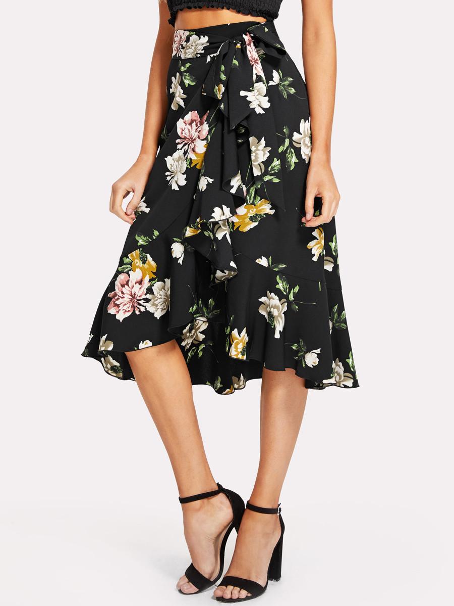 חצאית ראפלס 21$