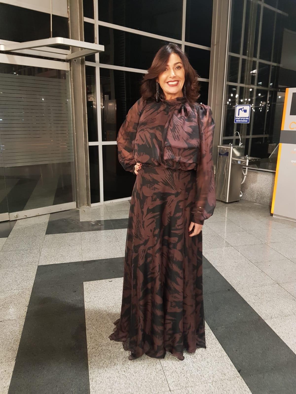 מירי רגב בשמלה של המעצב דרור קונטננטו, באירוע ההצדעה לאופנה הישראלית (צילום: יח״צ)