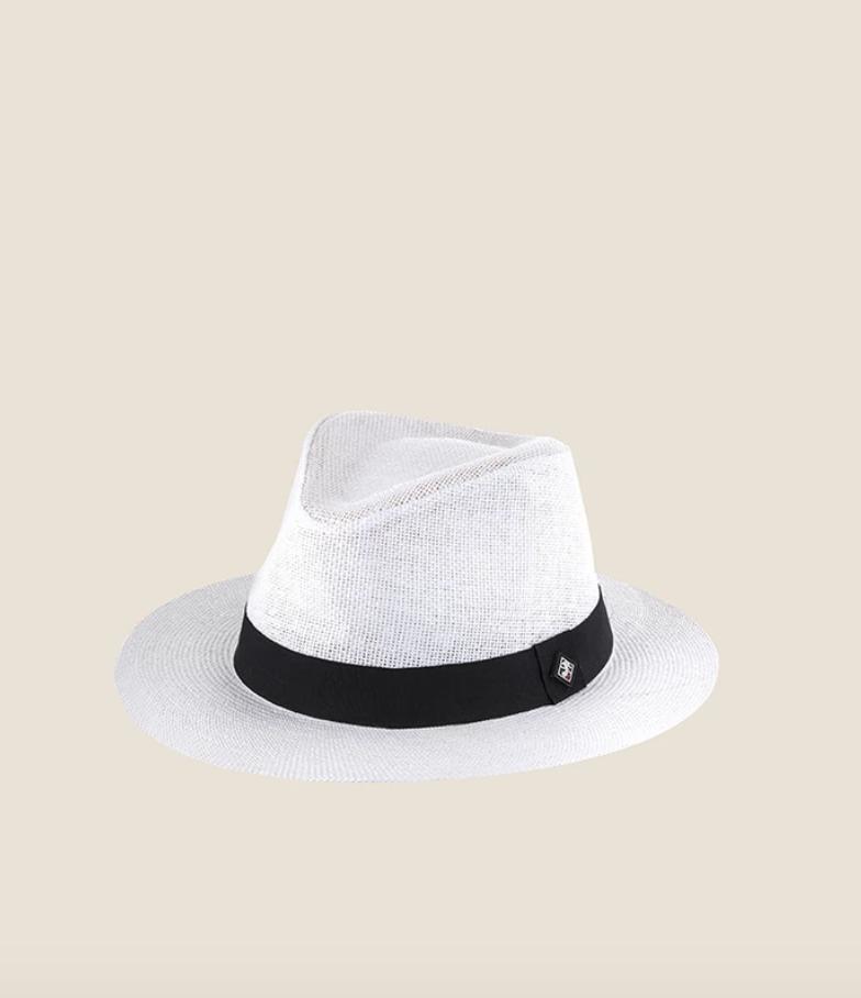 NIKKA כובע קש לבן 79₪