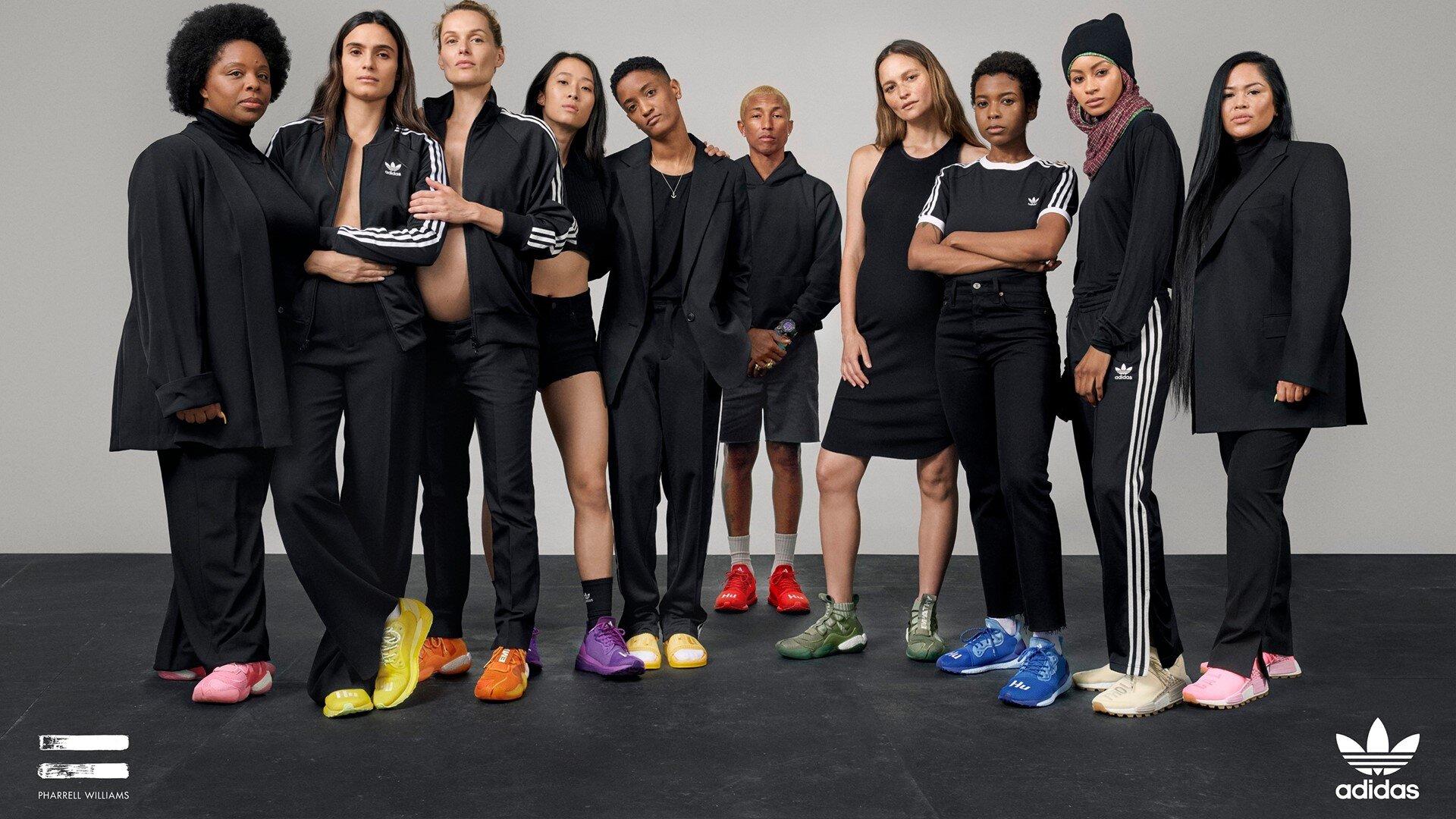 ״ההבדלים והשוני מקבלים משנה תוקף״ מתוך קמפיין אדידס Now Is Her Time