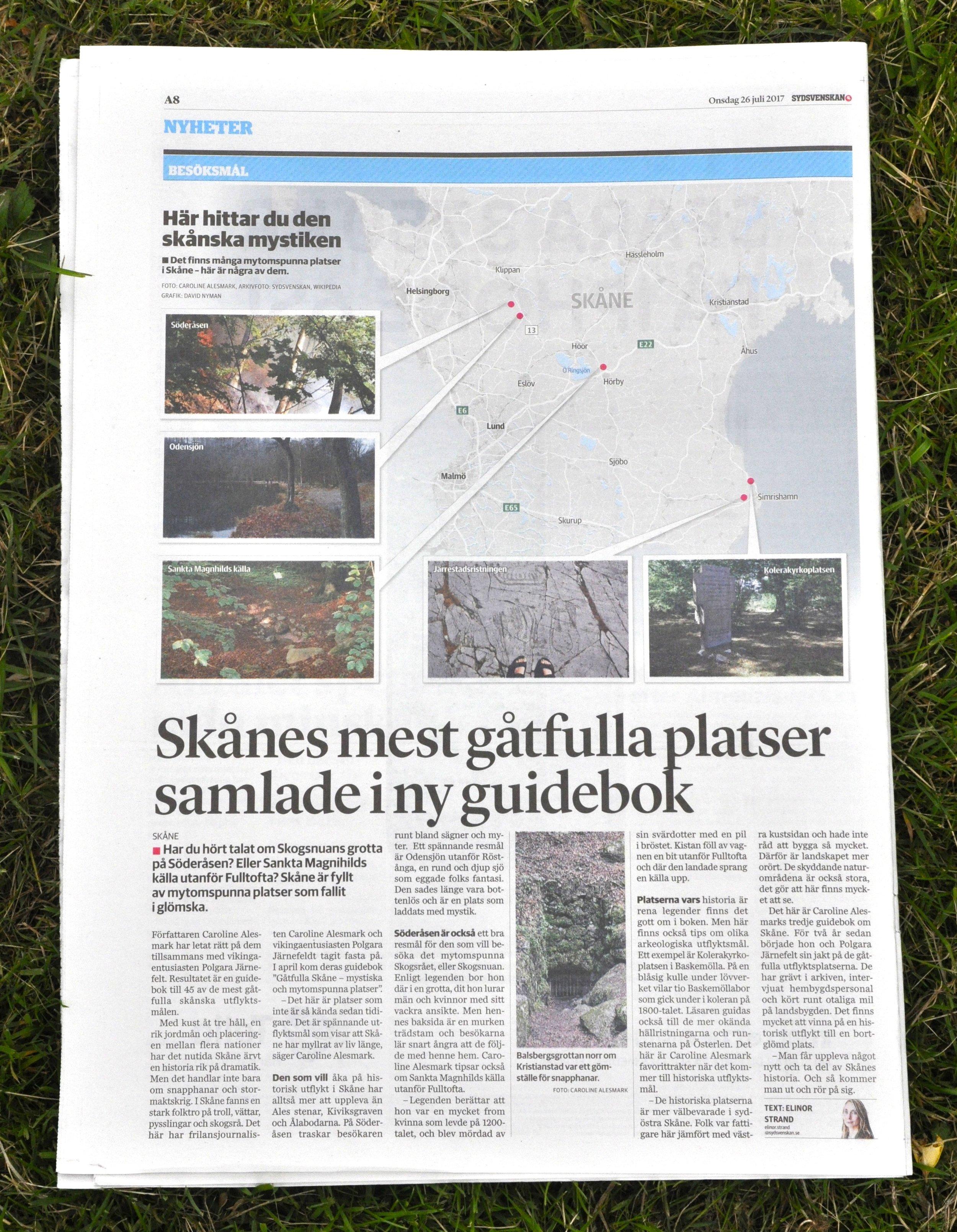 Sydsvenskan Gåtfulla Skåne 1.jpg