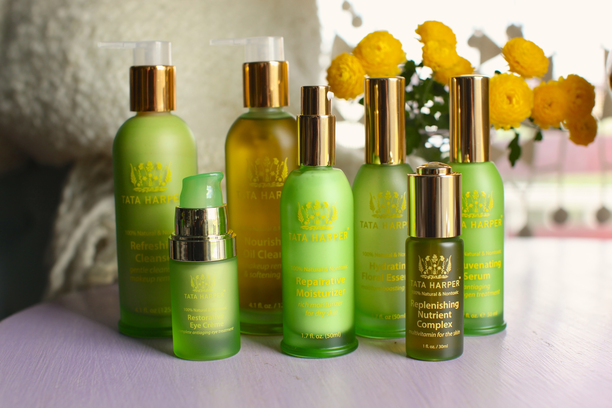 One of my favourite natural skincare brands is Tata Harper. Image Source: www.tataharperskincare.com