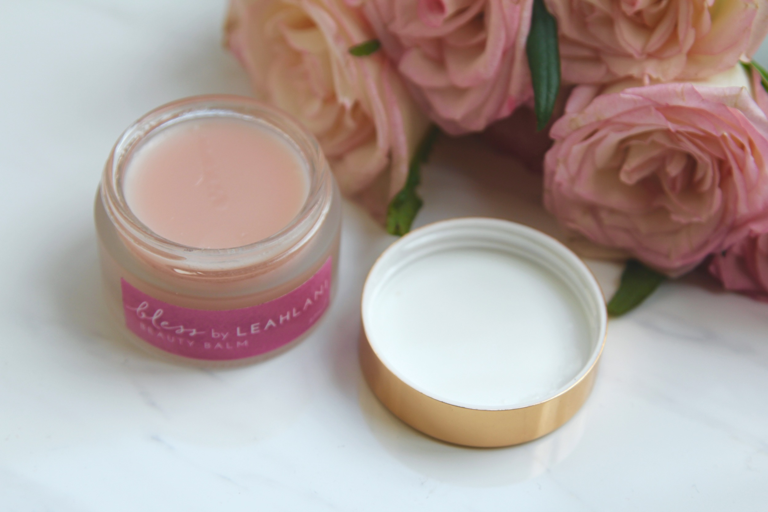 Doesn't this look lush? Leah Lani's Bless Balm smells as pretty as it looks!