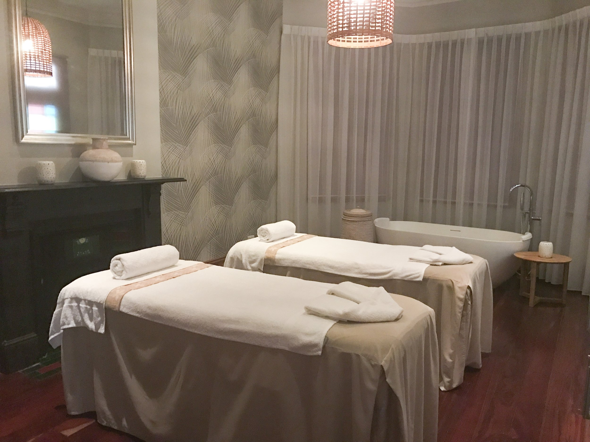 Deluxe Couples Treatment Room at Bodhi J Wellness Spa in Perth