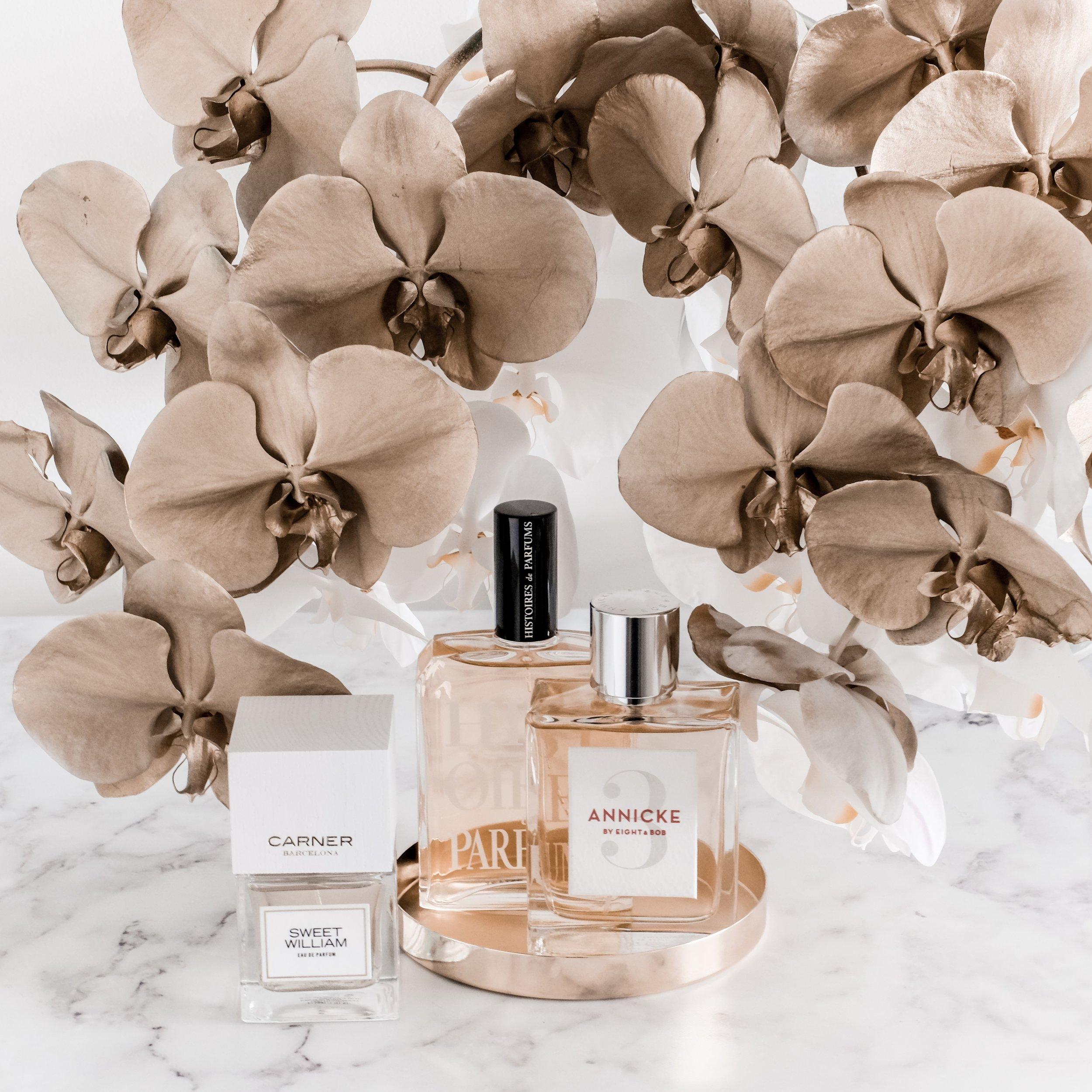 My Fragrance Trio from Lore Perfumery