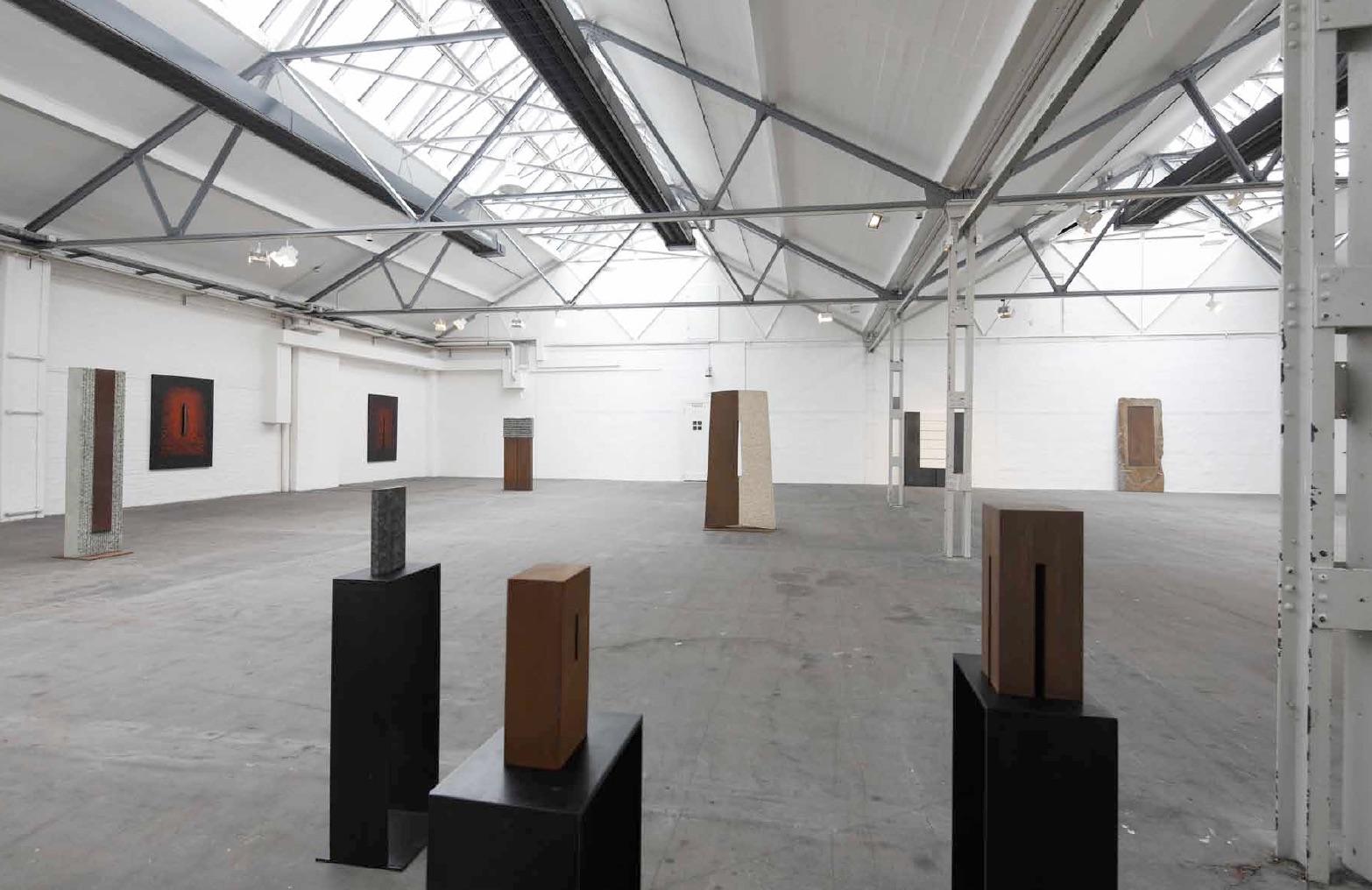 exhibition view Flottmann-Hallen Herne