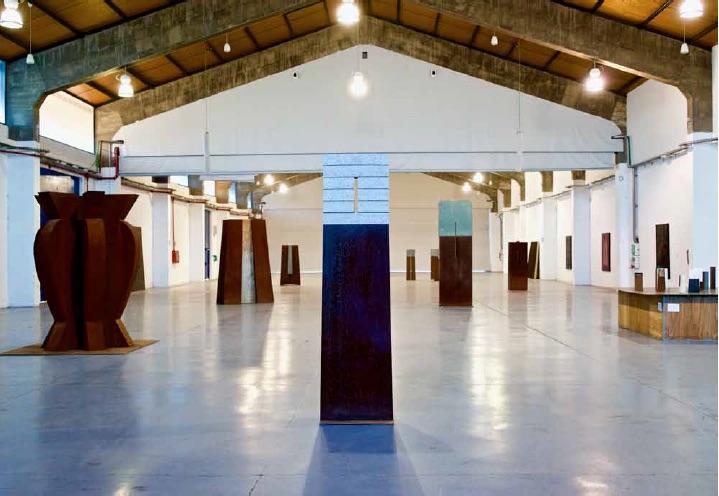 exhibition view Moll de Costa, Tarragona