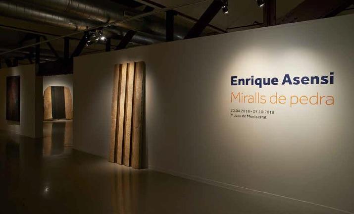 exhibition view Museo de Montserrat