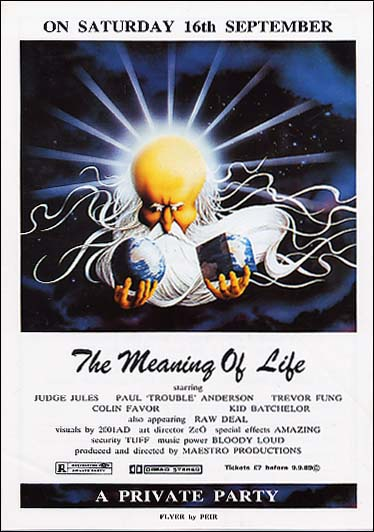 Meaning of Life 1989