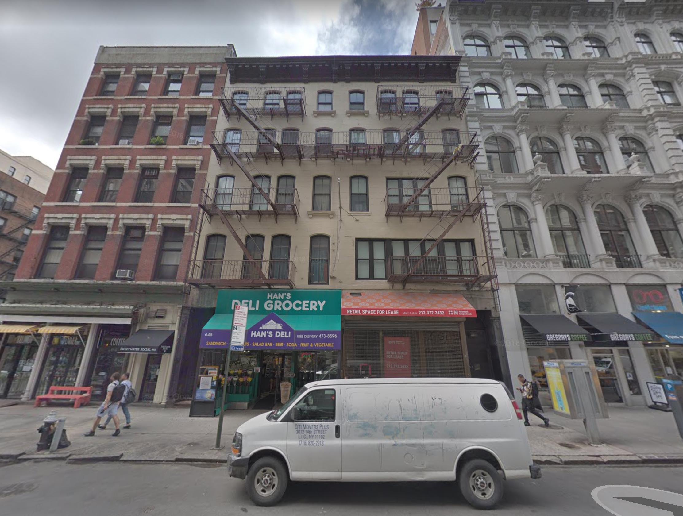 647-648 Broadway. The site of David Mancuso's The Loft. Now forgotten.