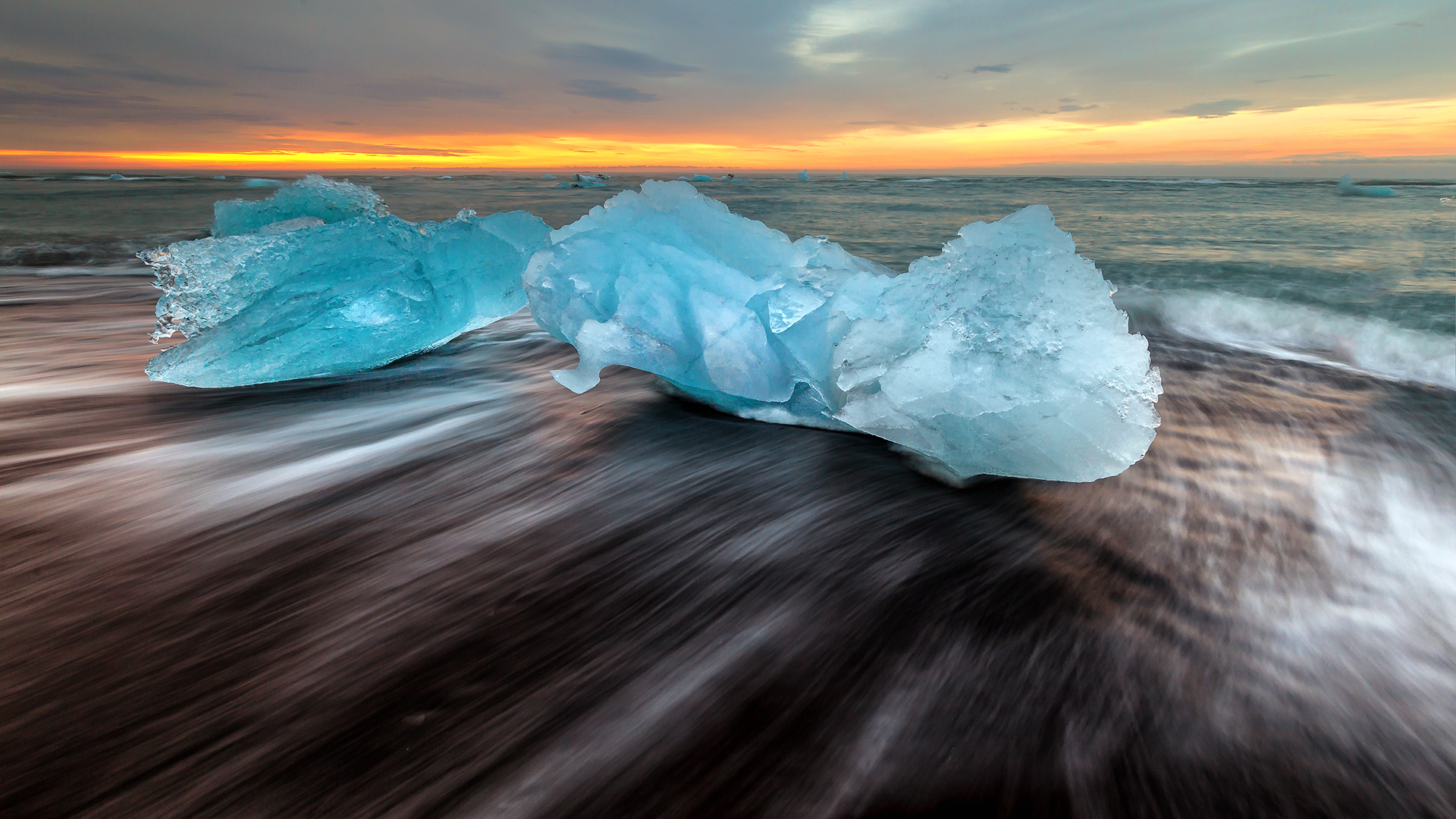 Jokulsarlon ijsstrand, Wim Denijs