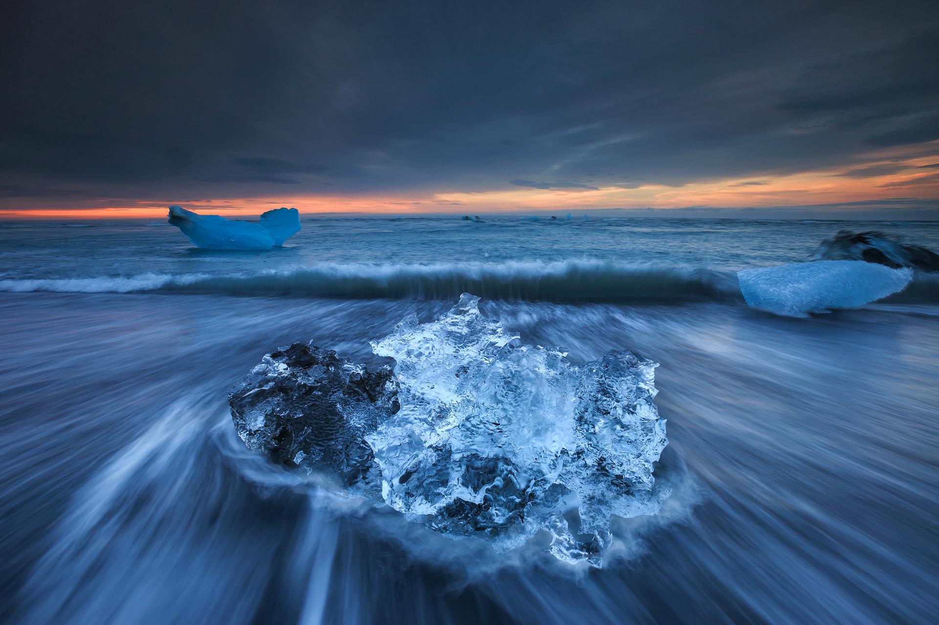 Jokulsarlon ijsstrand, Sven Broeckx