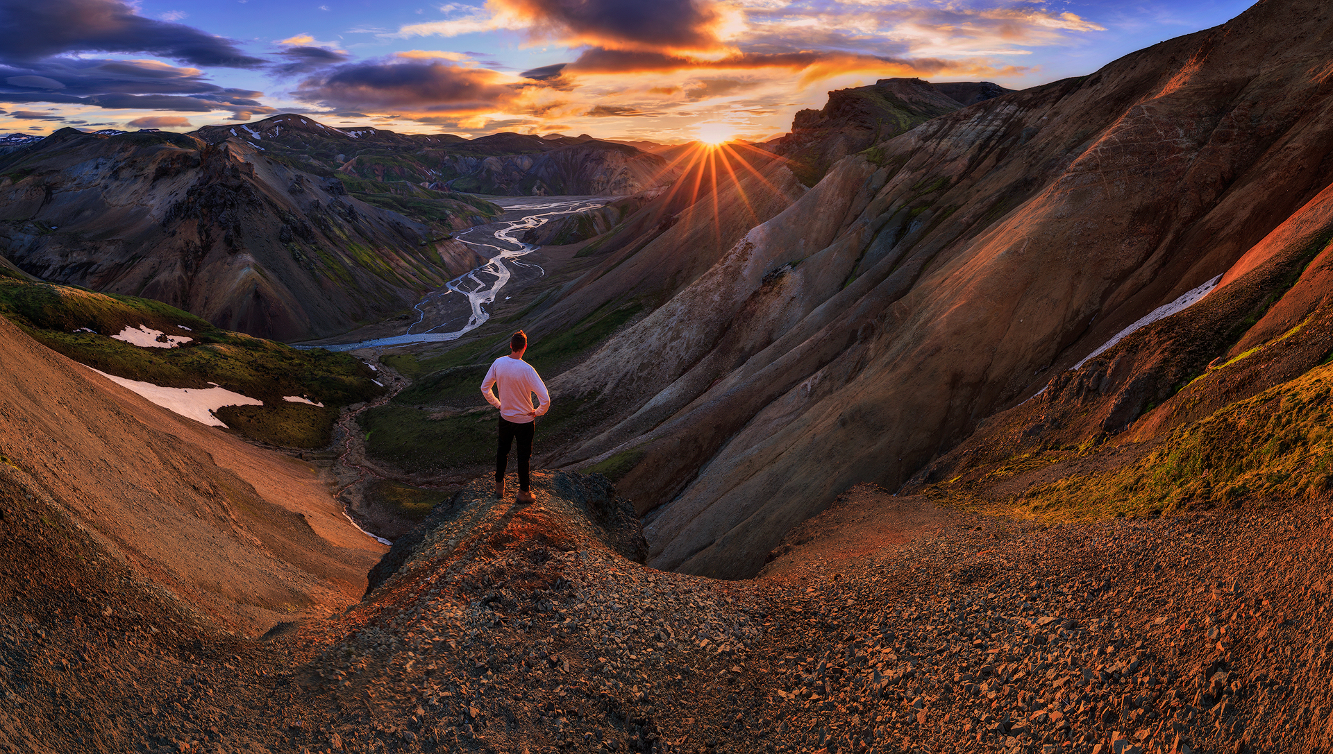 Uitzicht over Landmannalaugar, Sven Broeckx