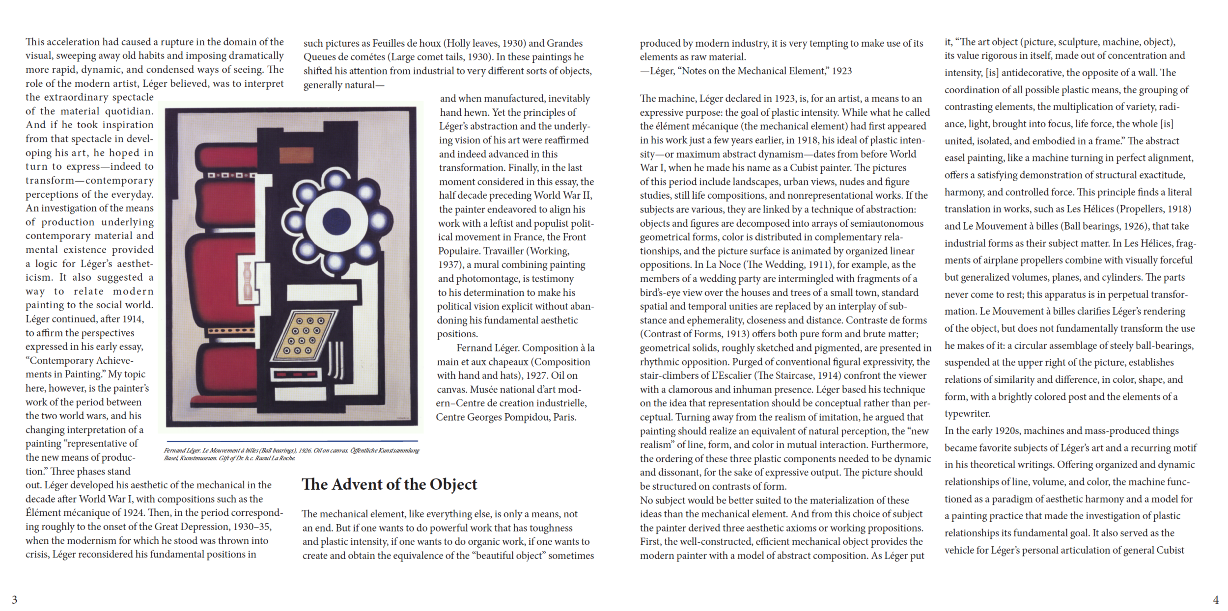 Inner chapter page spread. Dealing with large blocks of text.