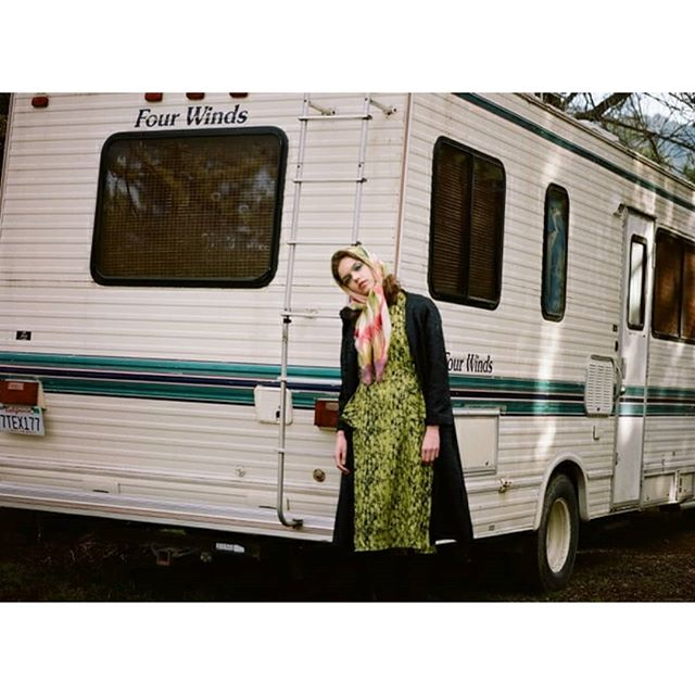 Autumnal Roadtrips & Dresses  #film #finnishdesign #ivanahelsinki #trees #autumn #collection #fashion #filmphotography