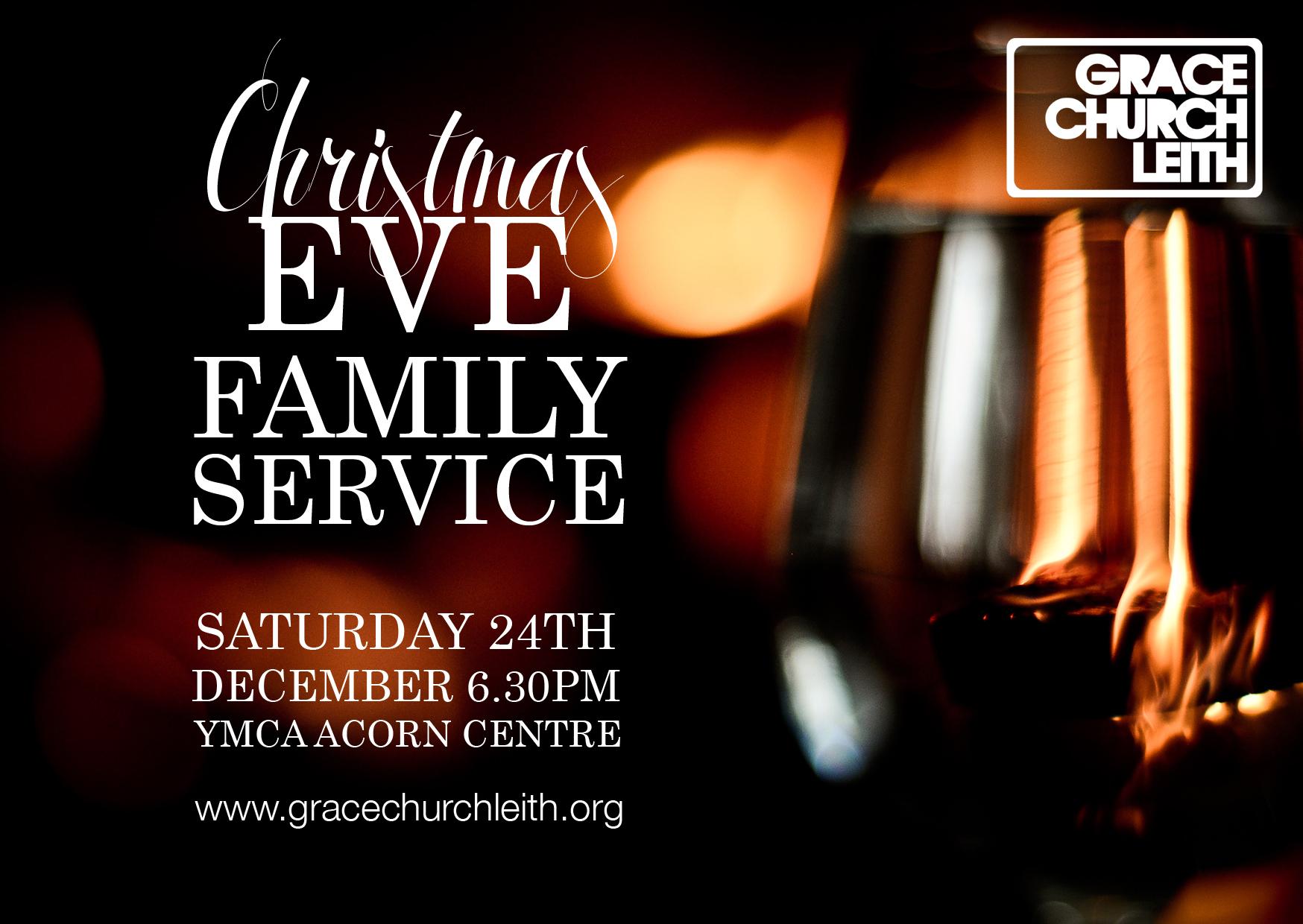 Christmas Eve Family Service: Grace Church Leith, Edinburgh 2016