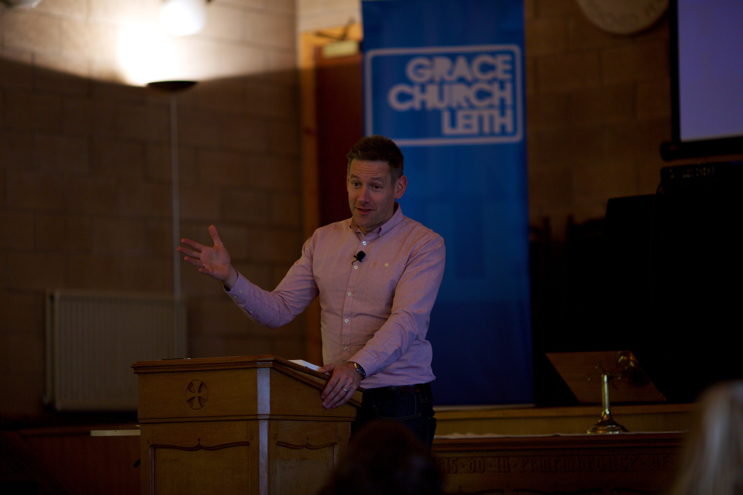 sermon talk edinburgh