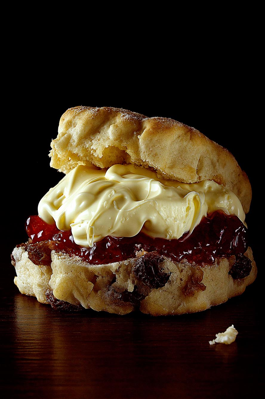 Kevin Mallett Scone with Jam & Clotted Cream