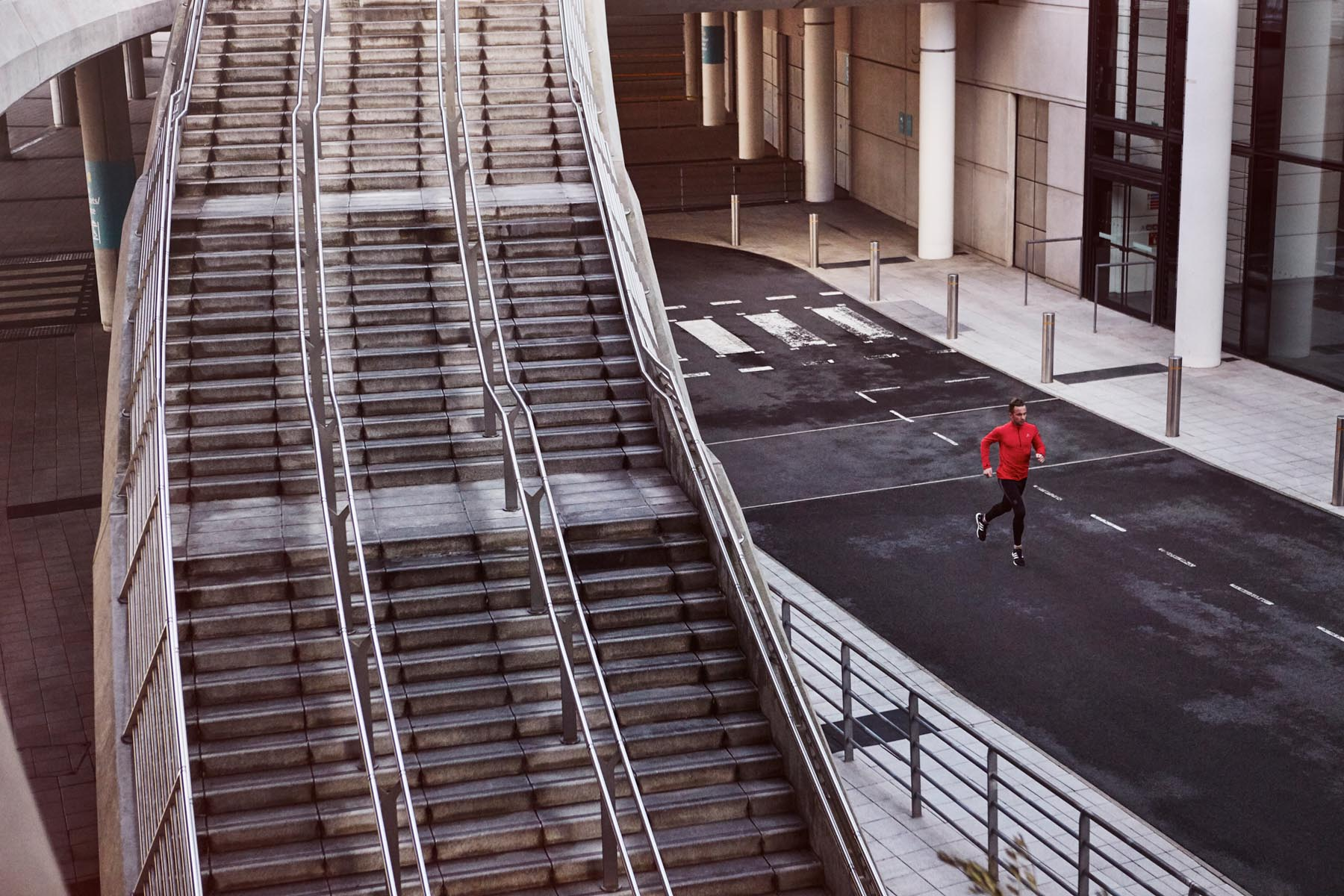 Duncan Nicholls City Staircase Jogger
