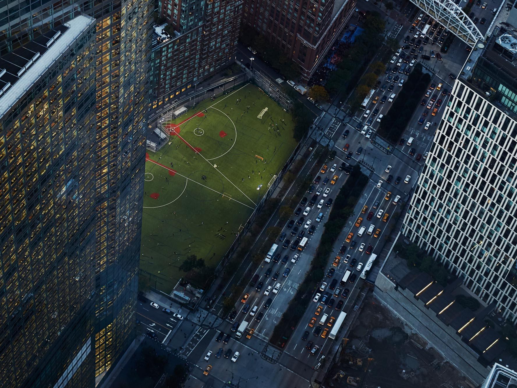 Duncan Nicholls Cityscape Aerial View