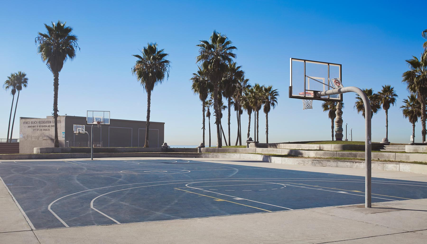 Duncan Nicholls Basketball Court