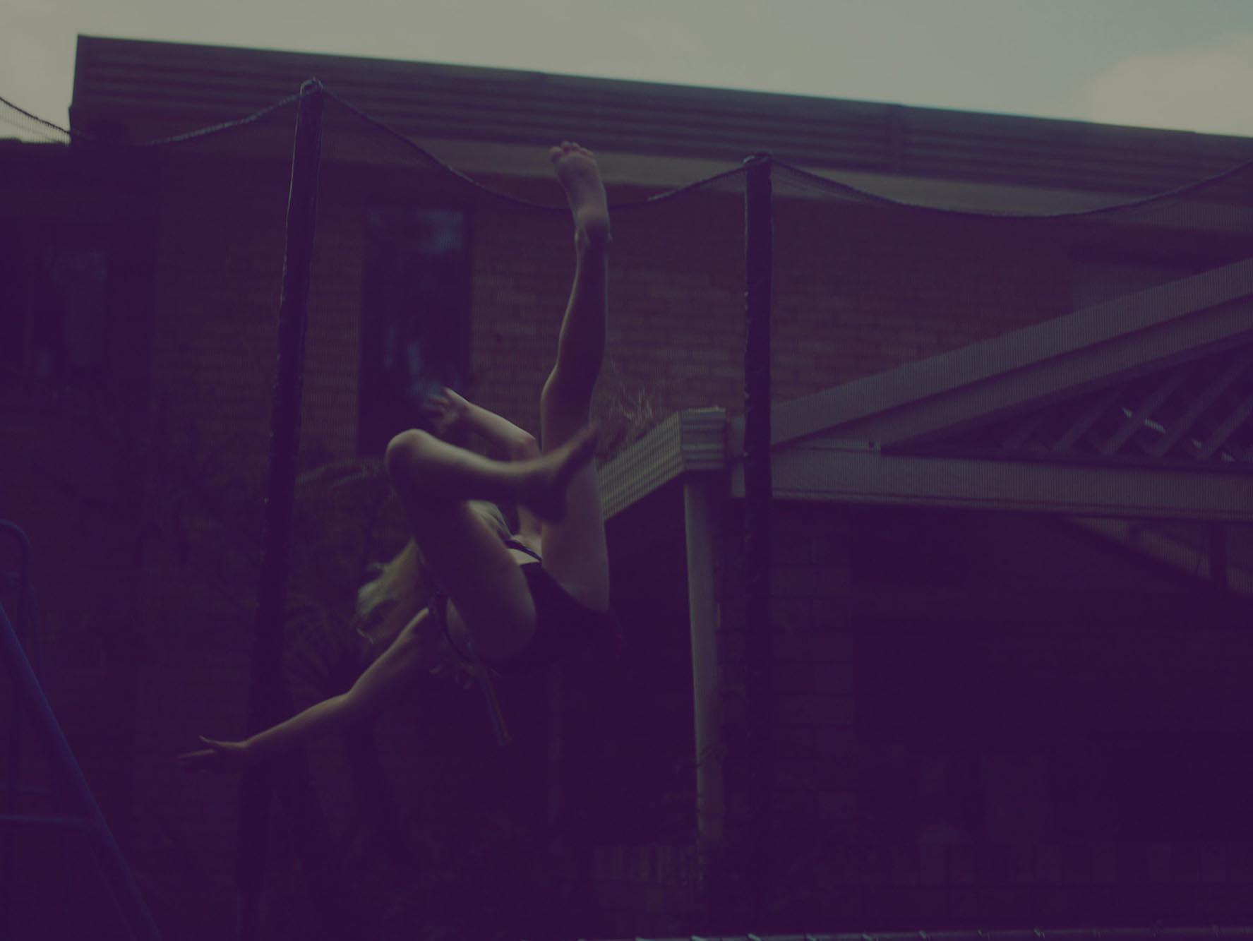 Noel McLaughlin Woman Falling