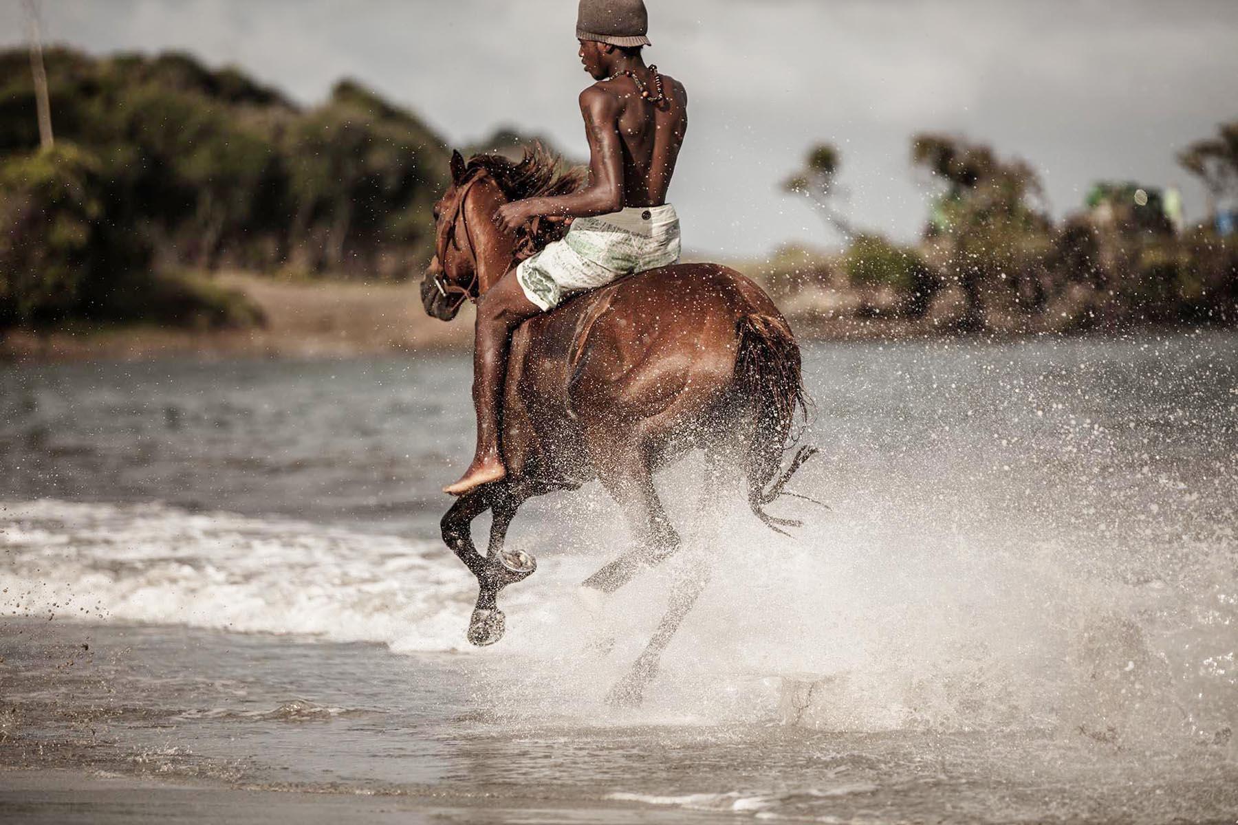 Richard Wadey Man on Horseback