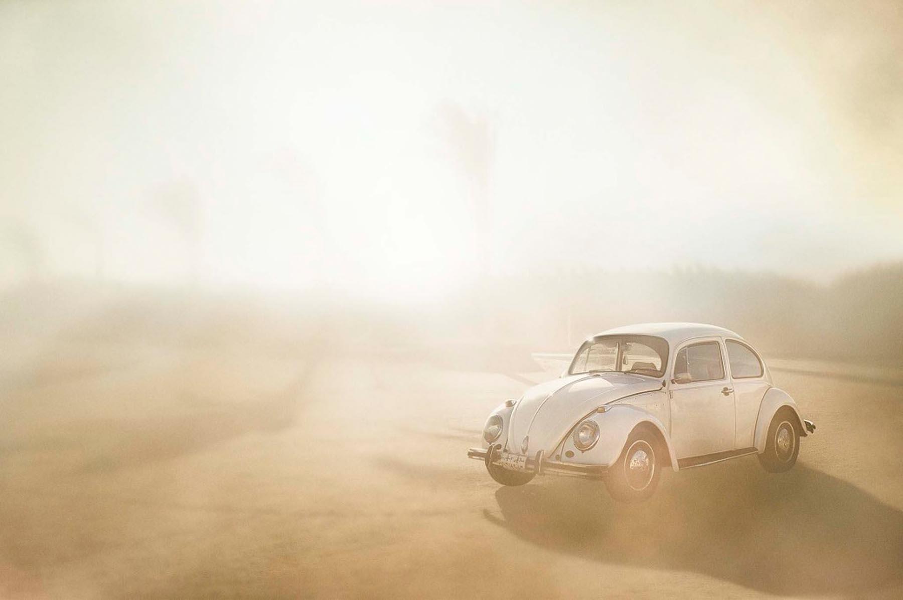 Richard Wadey White Volkswagen Beetle