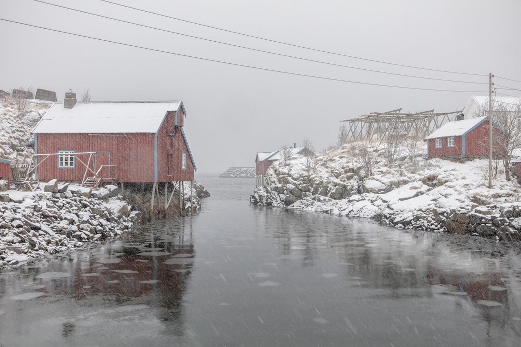 Richard Wadey Waterway Snowscape