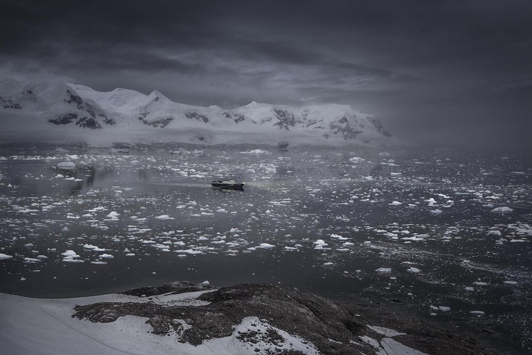 Richard Wadey Ice Boat