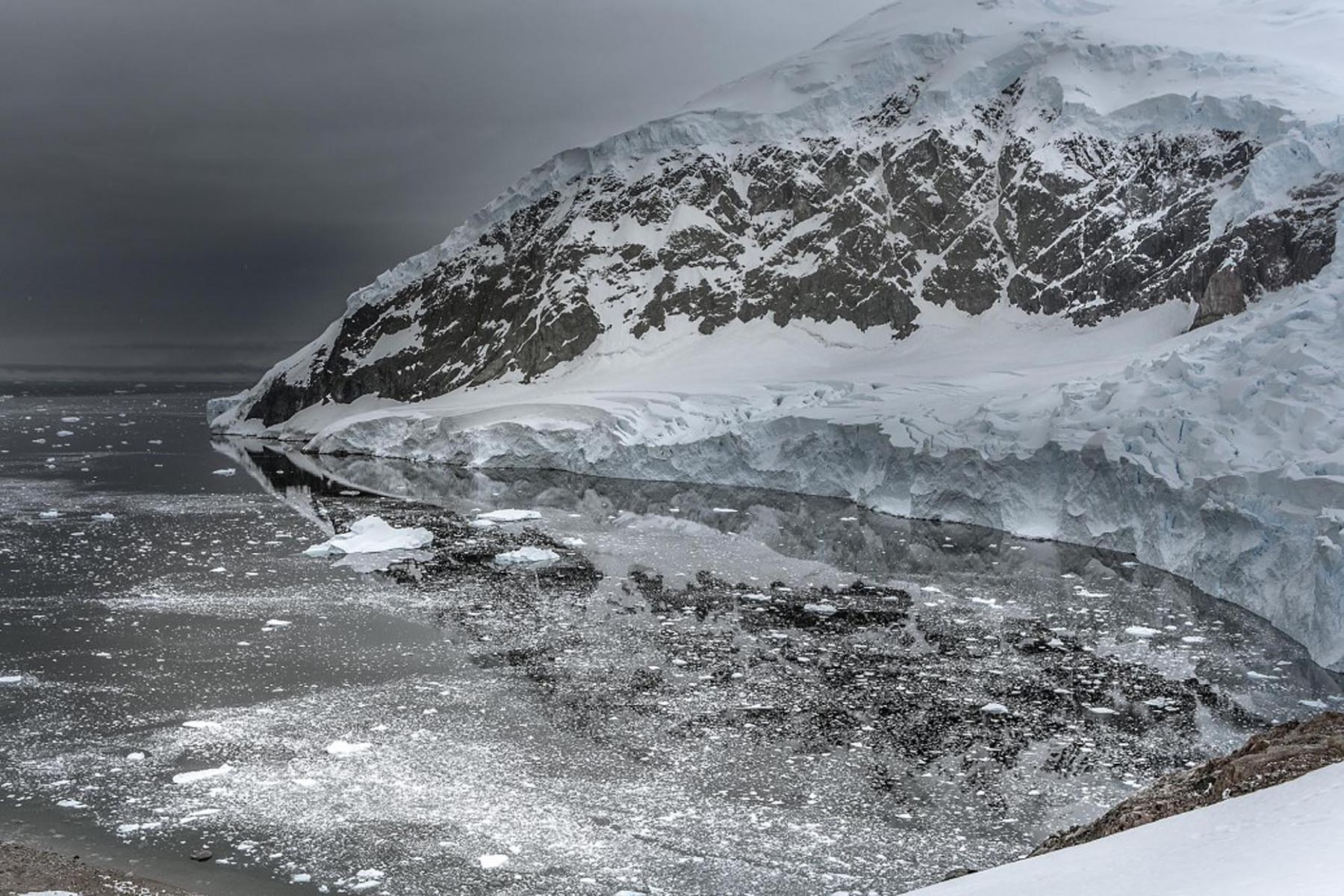 Richard Wadey Coastal Snowscape