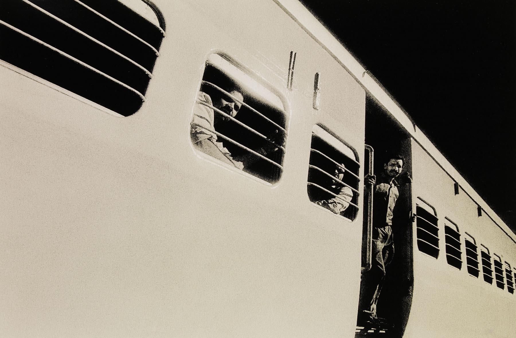 Nigel Harniman Train in India