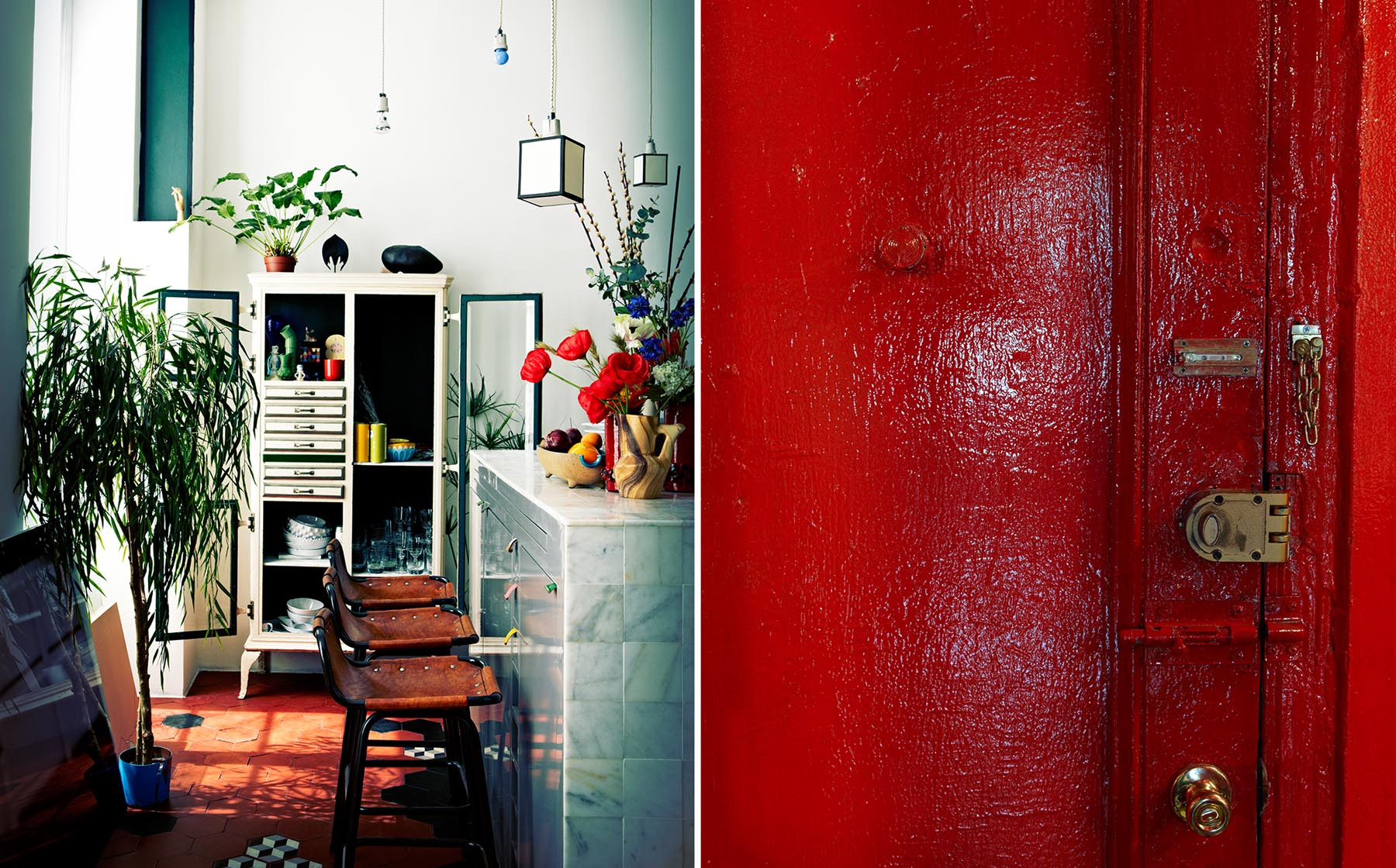 Graham Atkins-Hughes Room & Red Door