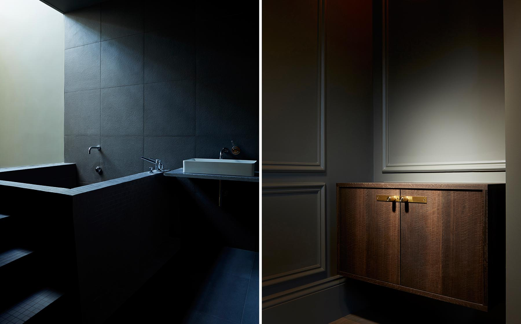 Graham Atkins-Hughes Bathroom & Cupboard