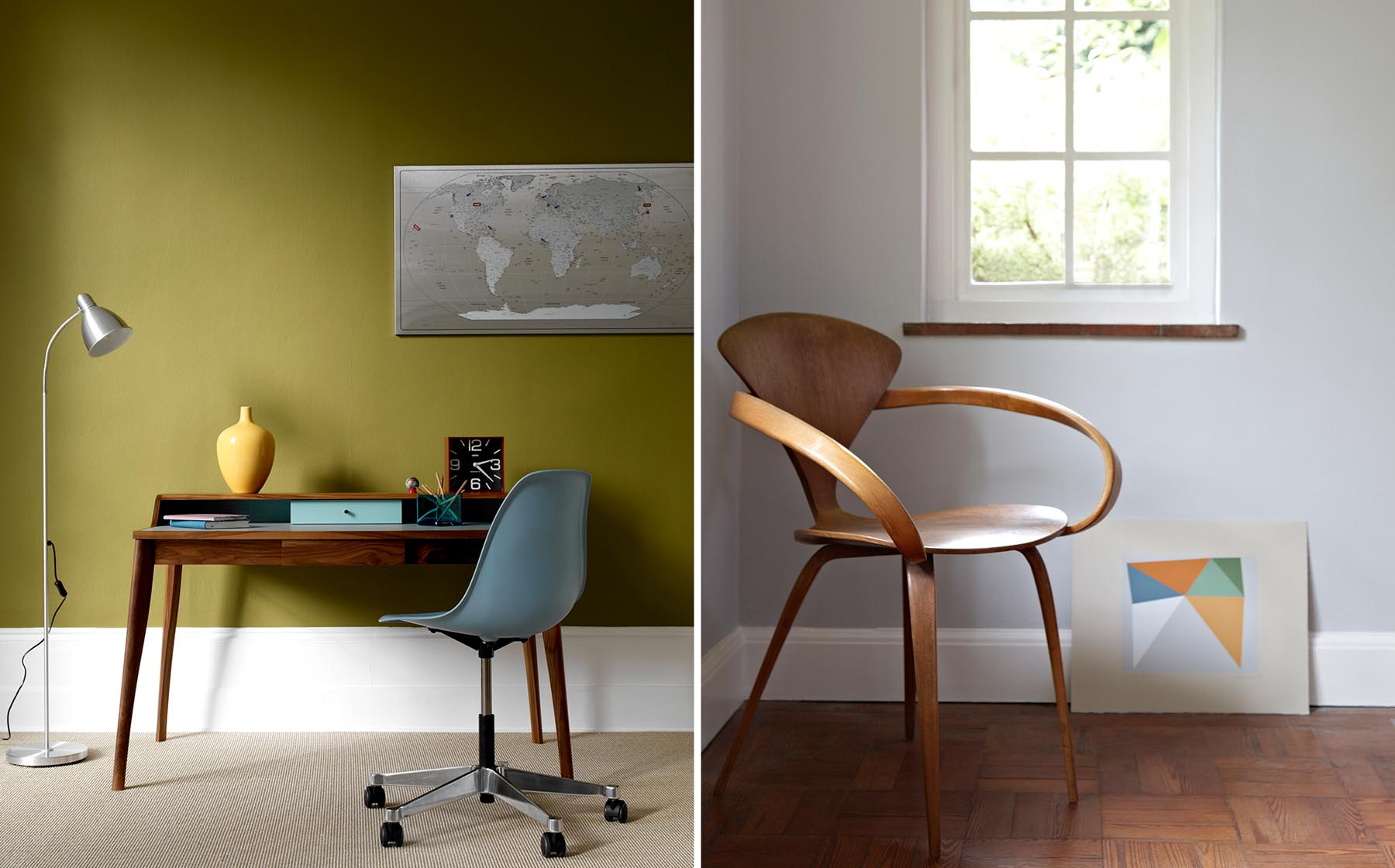 Graham Atkins-Hughes Desk & Chair