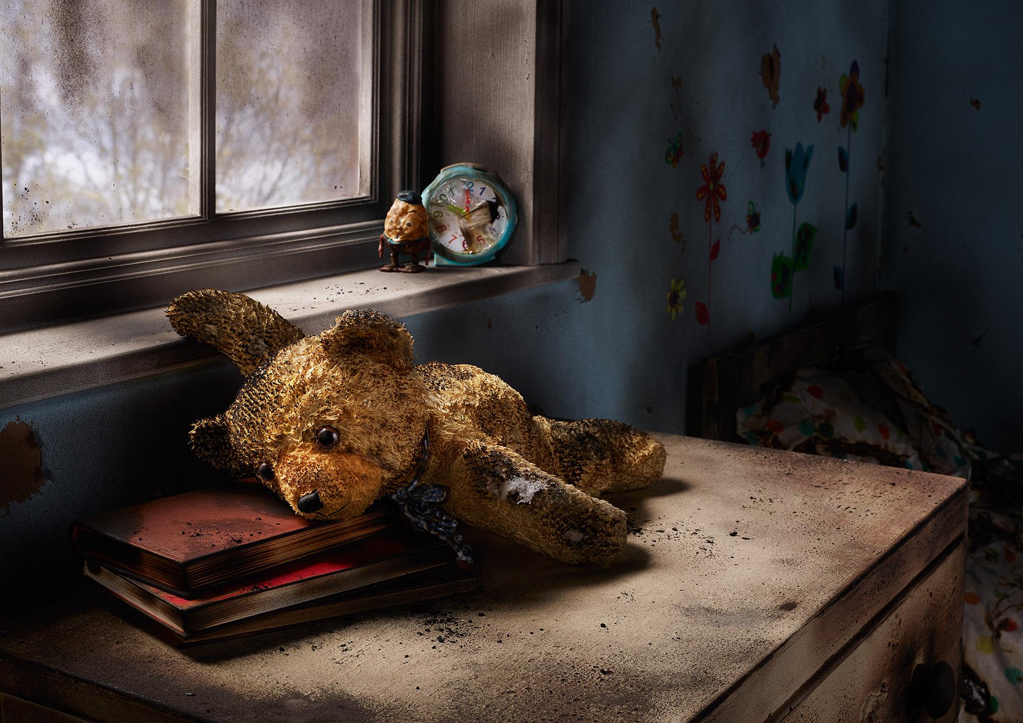 Tal Silverman Fire Damage Teddy Bear