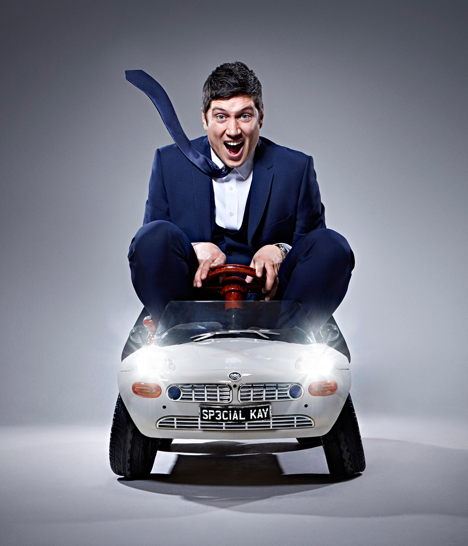Simon Webb - Vernon Kay - childrens car