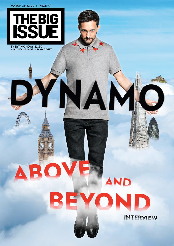 Simon Webb - Dynamo - The Big Issue