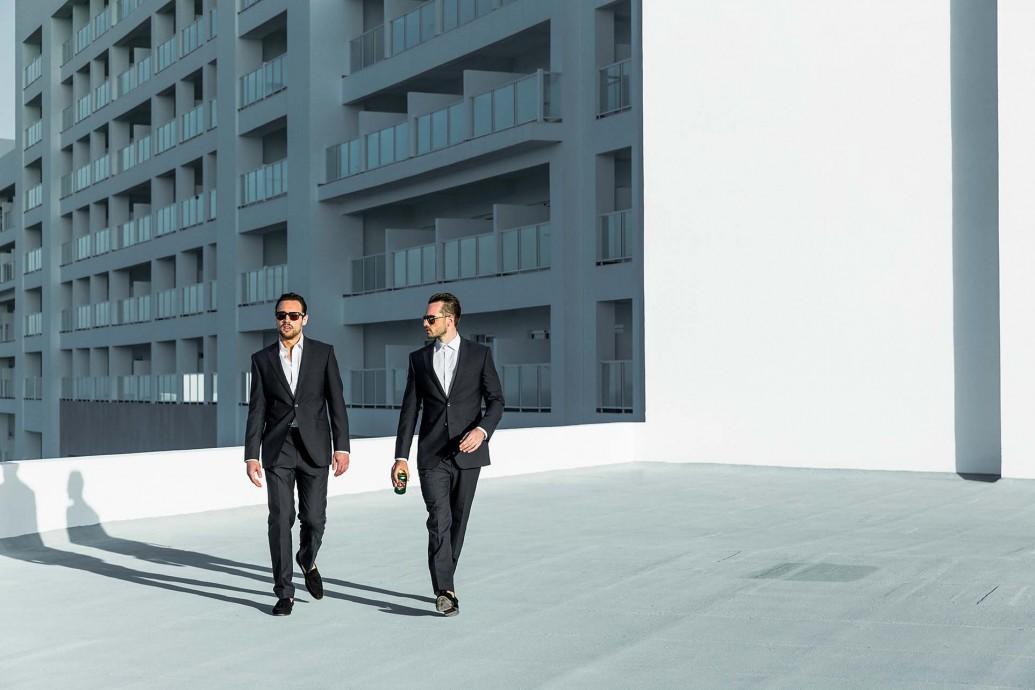 Richard Wadey - Men in suits