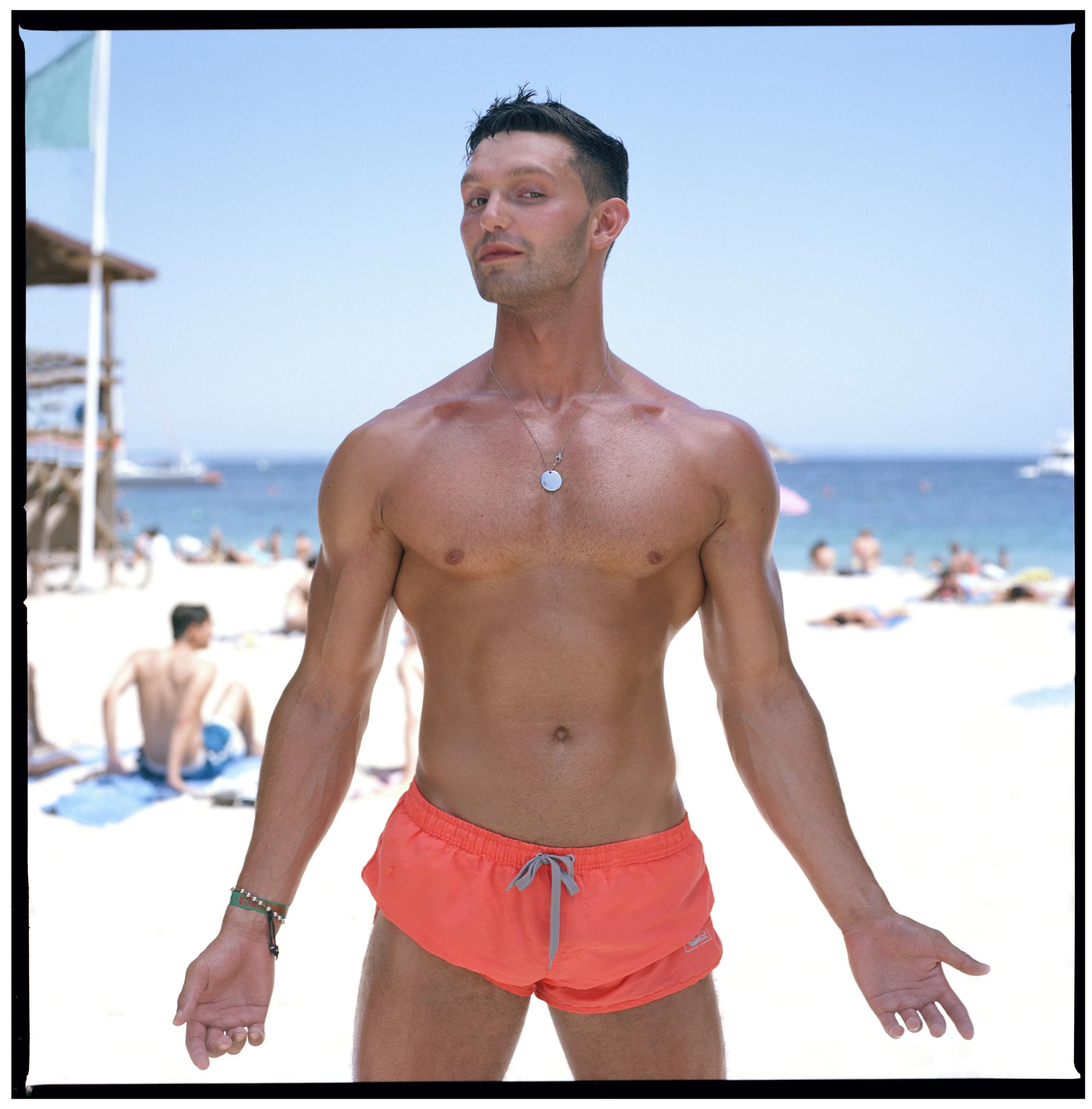 Grant Smith - Man body builder on beach
