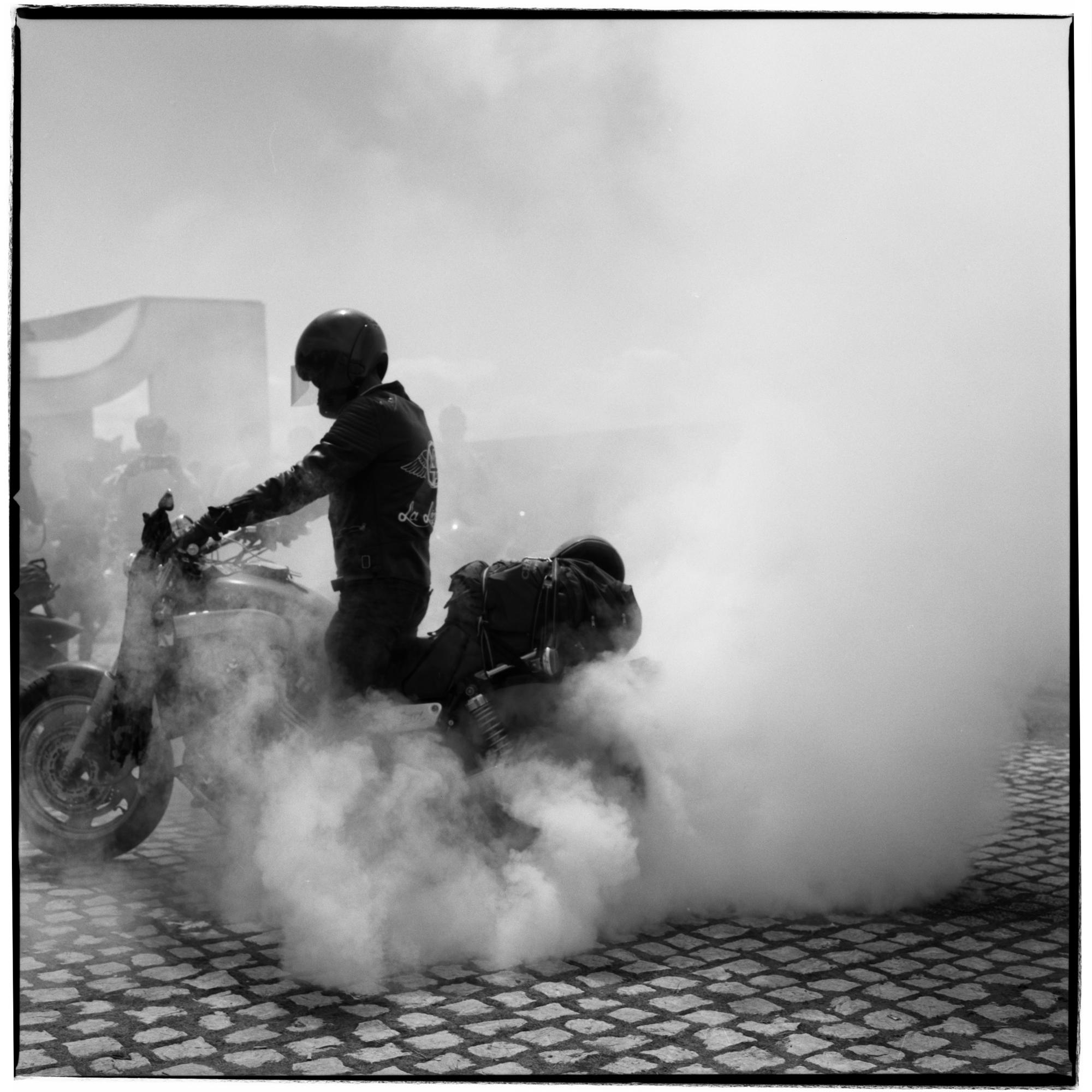Grant Smith - Biker Revving