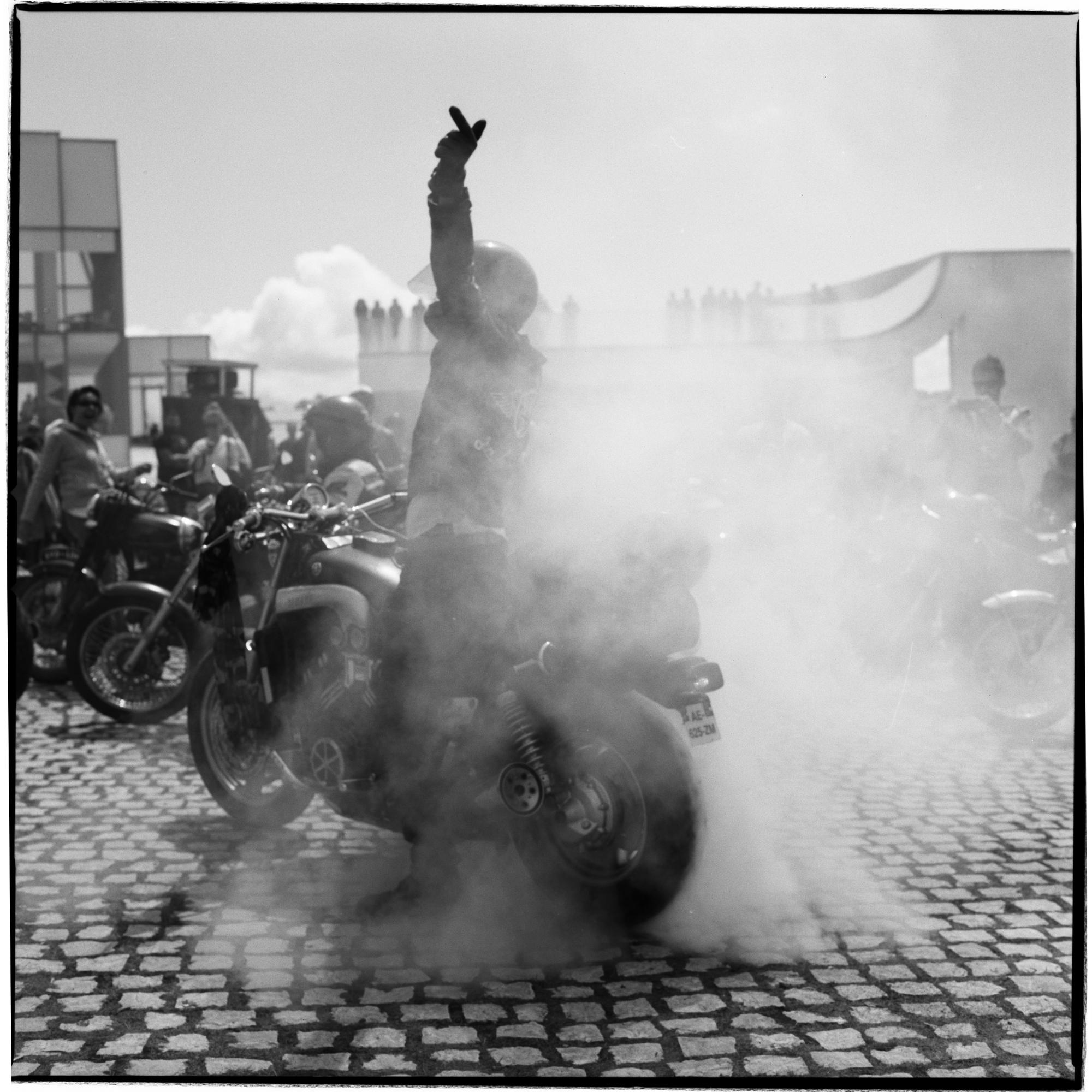 Grant Smith - Biker Salute