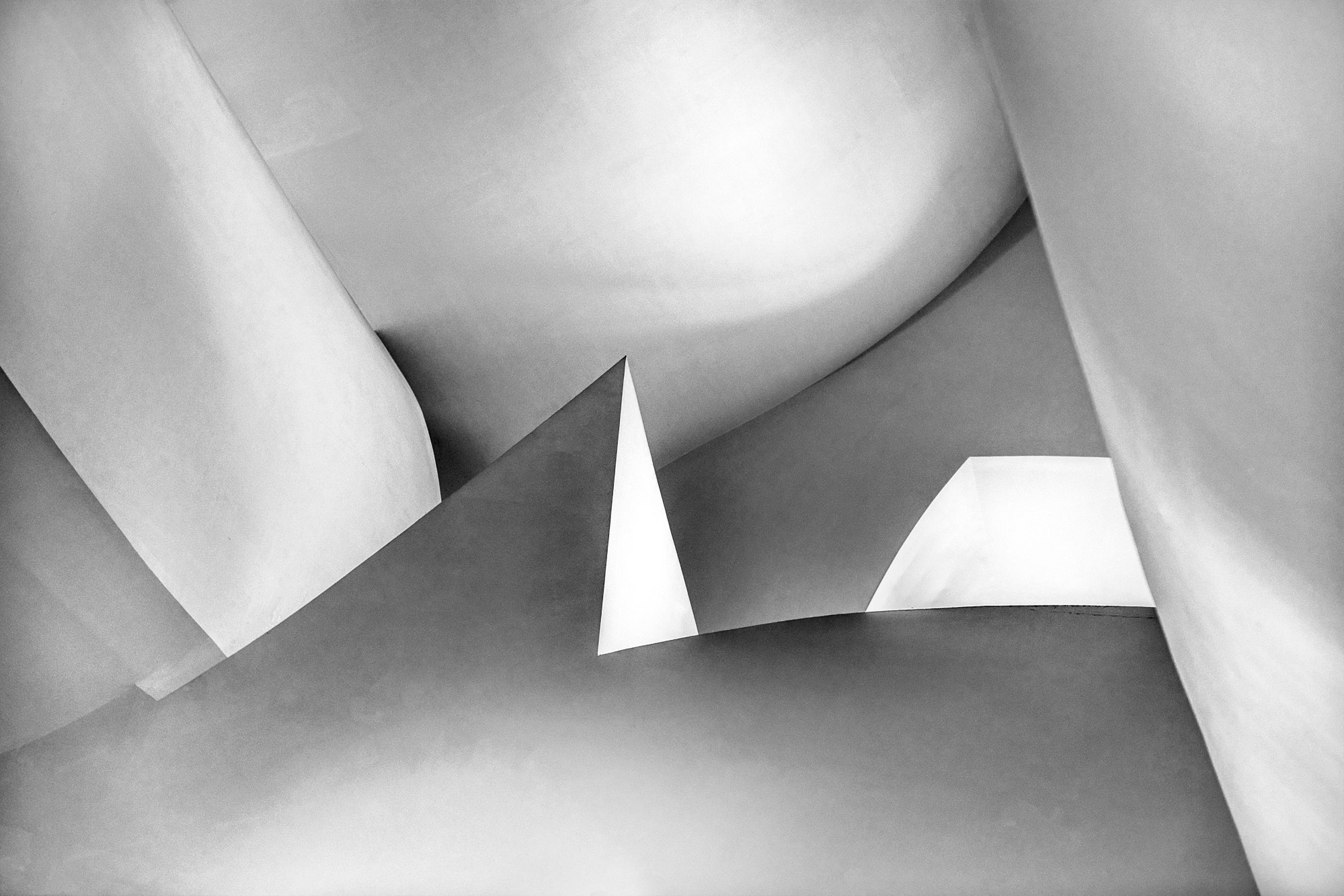 Chris Clor black and white graphic shapes