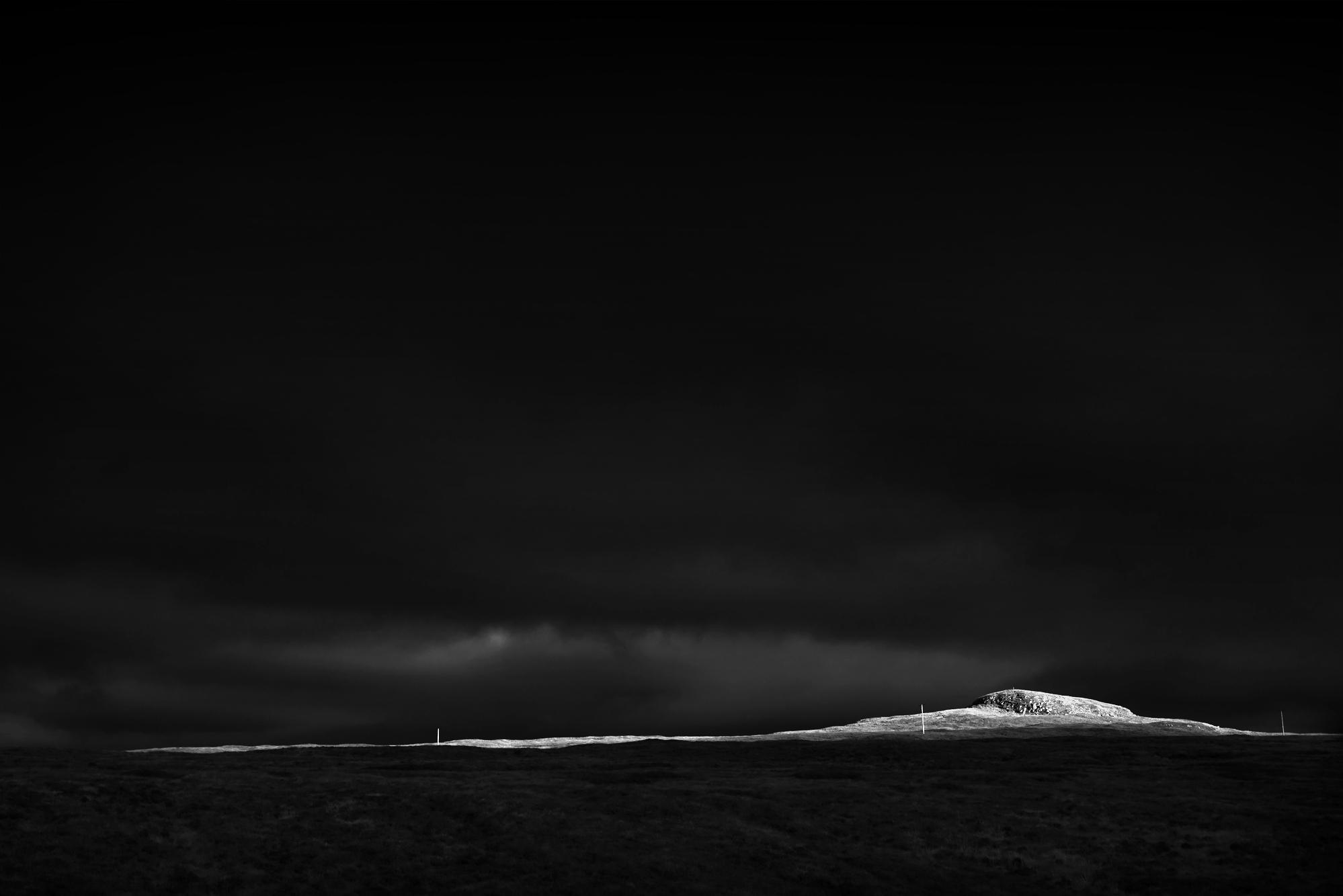 Chris Clor black and white landscape