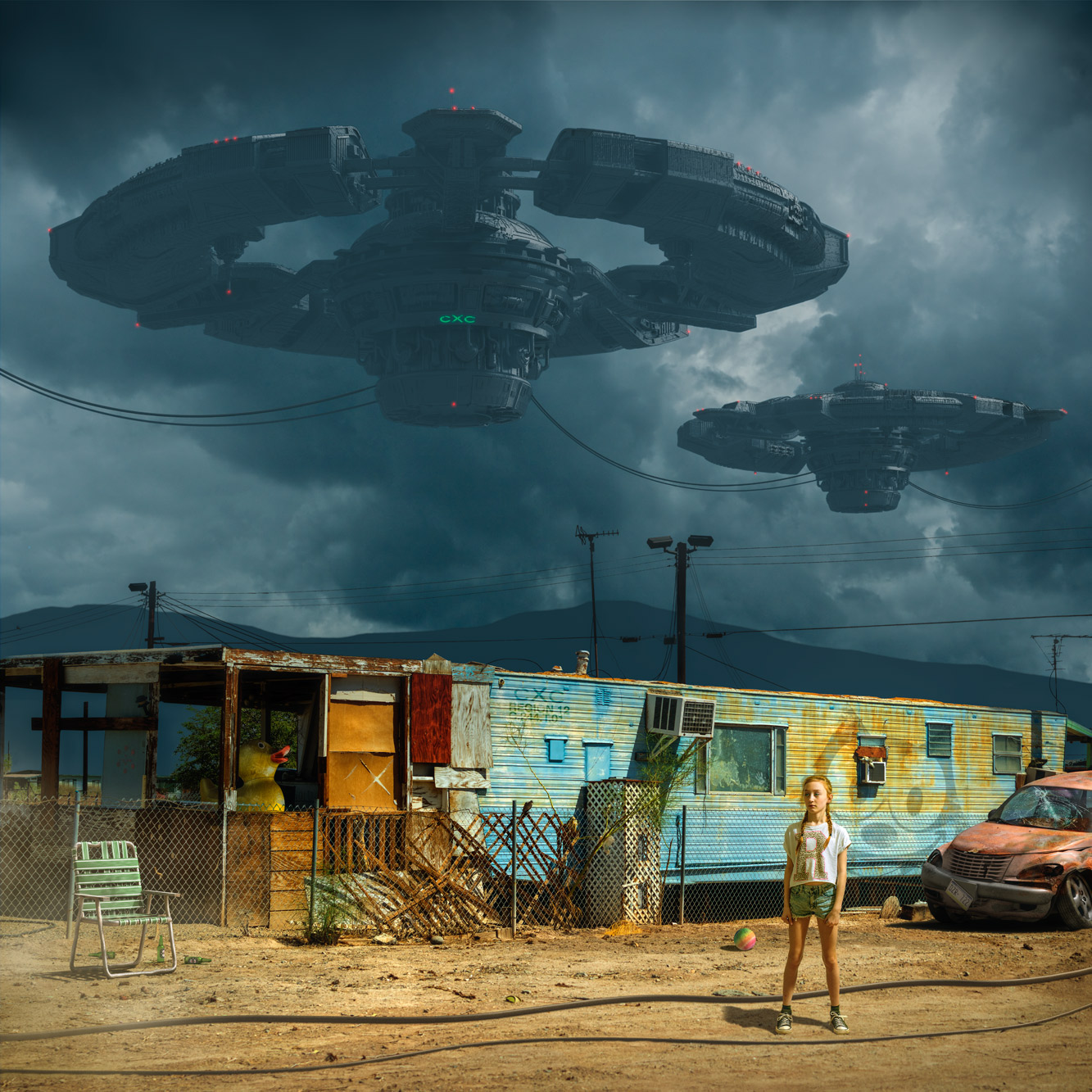 Chris Clor space ships