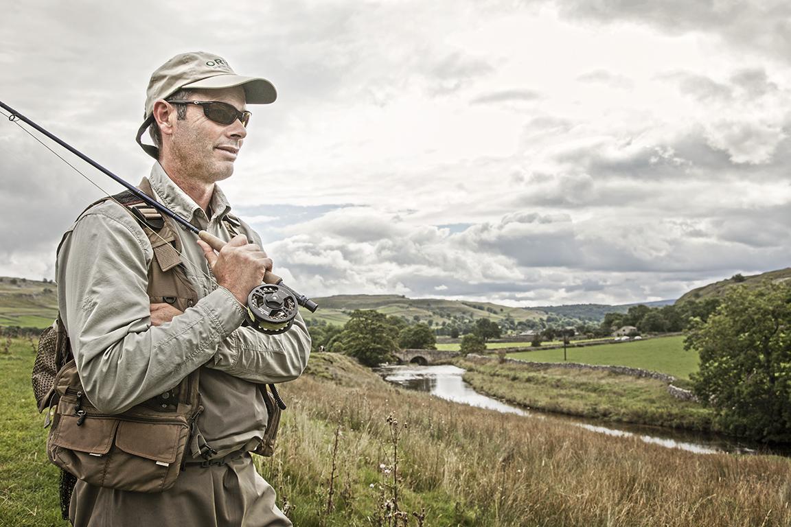 Dan Prince - fishing in the Dales