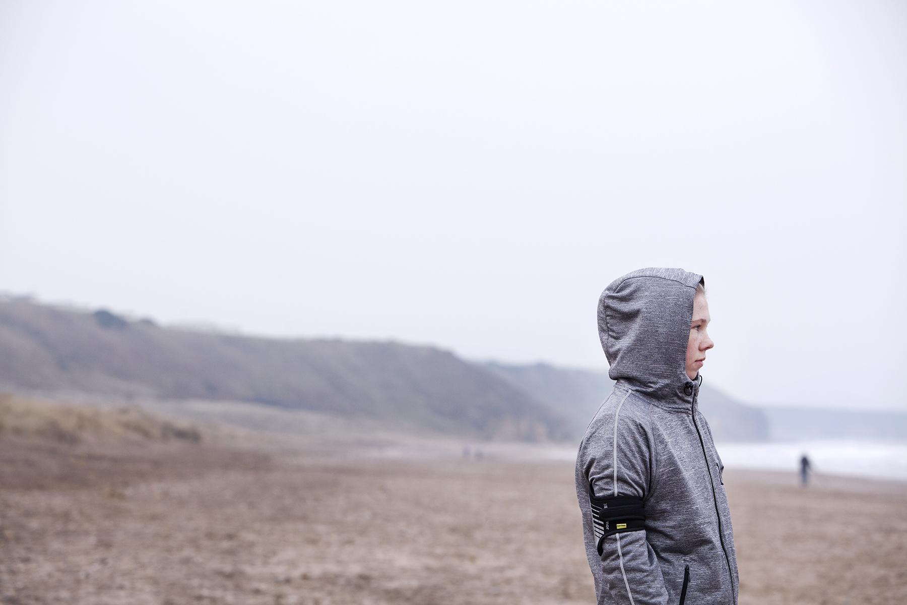 Dan Prince - Leigh Newton on beach
