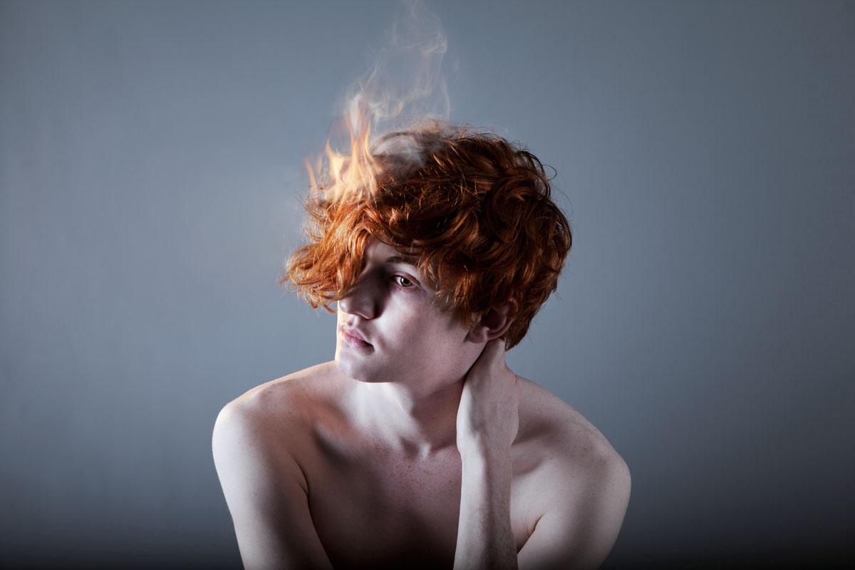 Dan Prince -flamin' Redhead portait