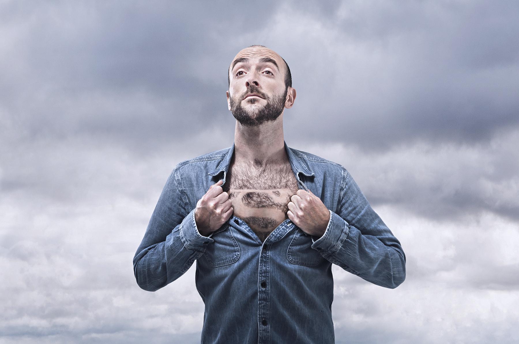 Dan Prince - Super me! Man with beard