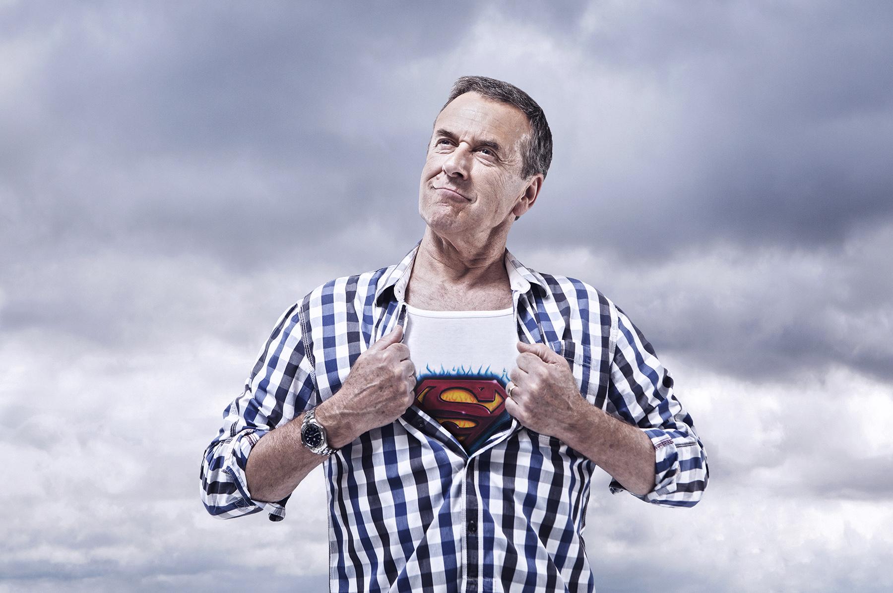 Dan Prince - Super me - man in check shirt
